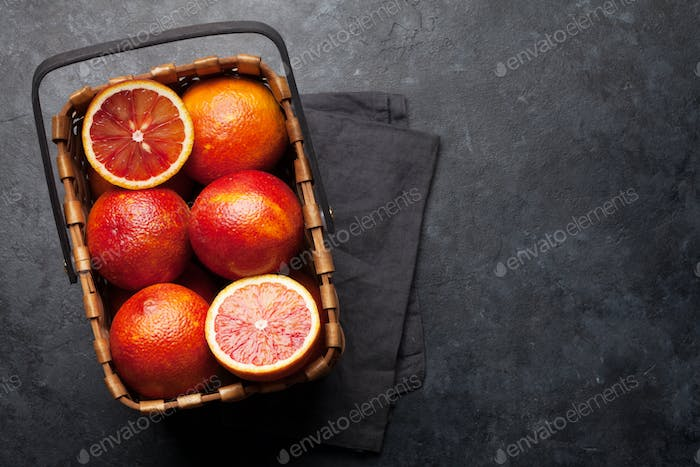 Sicilian Blood oranges