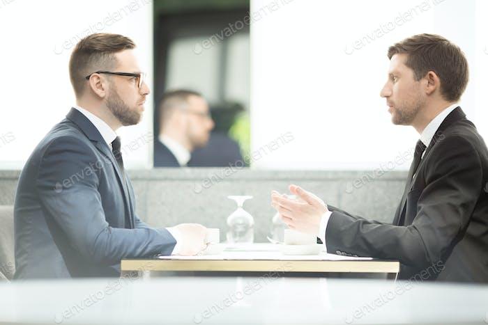 Два молодых предпринимателя