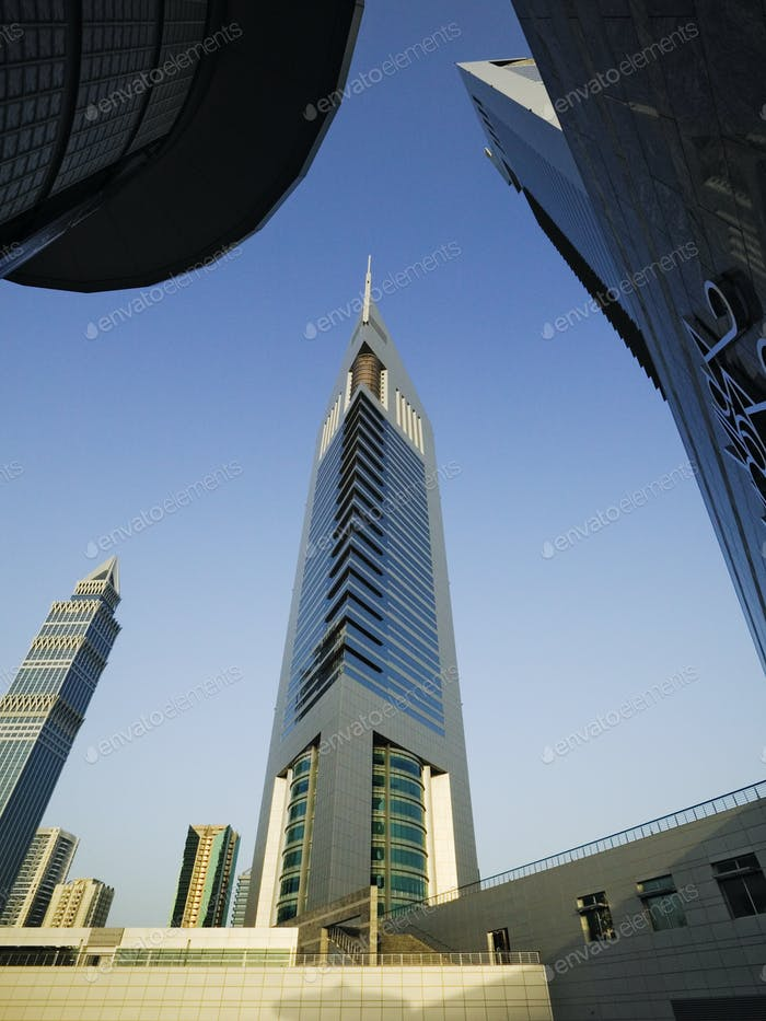 51093,Emirates Tower at Sunrise