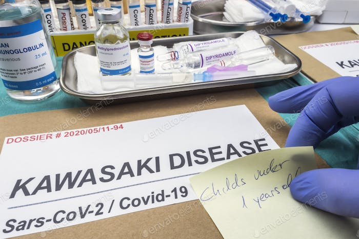 Nurse leaves a warning about a dossier to treat Sars-CoV-2-related Kawasaki disease