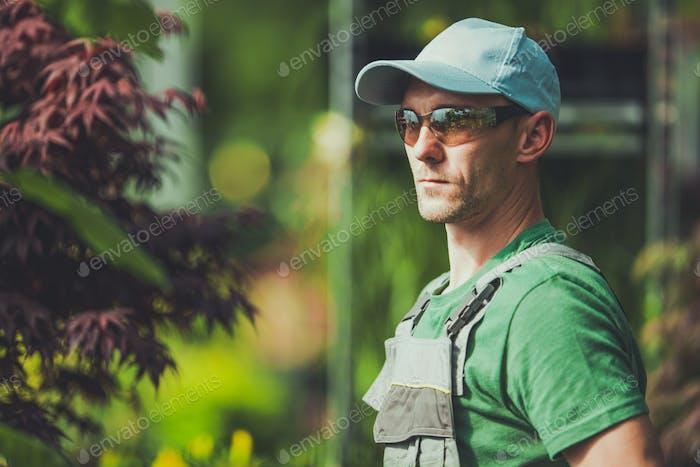 Professional Gardener Portrait