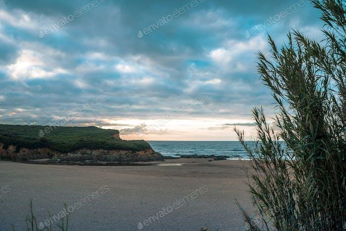 Beach Landscape in Spain
