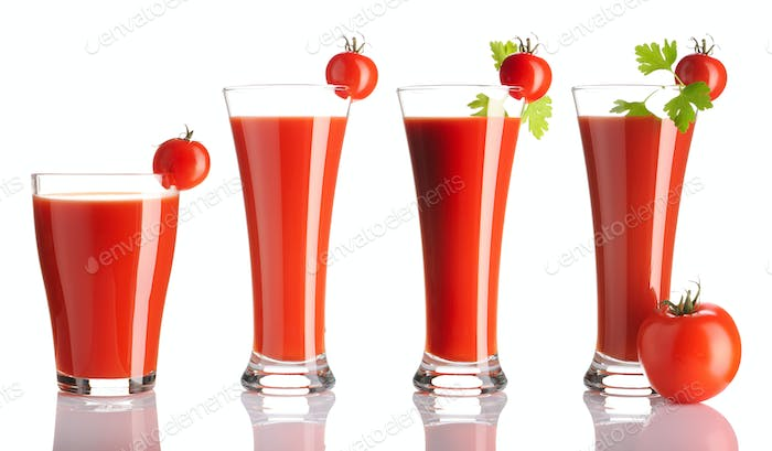 Tomato juice collection