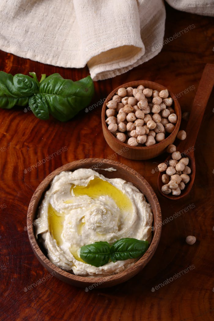 Traditional Chickpea Hummus