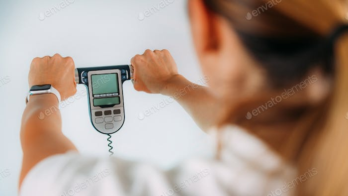 Using Body Impedance Monitor at Home