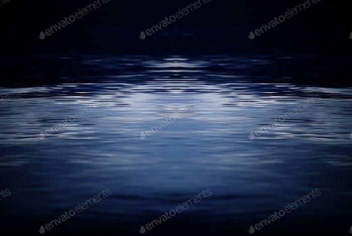 Fond de la surface de l'eau