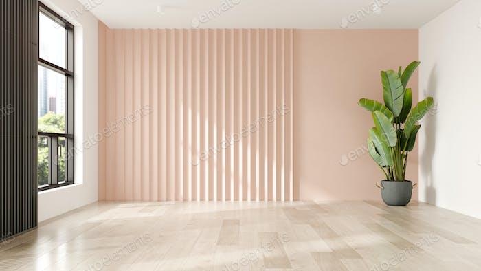 Interieur des modernen Wohnzimmers mit Sofa 3 D Rendering