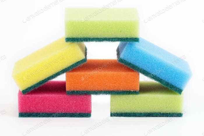 Washing sponges