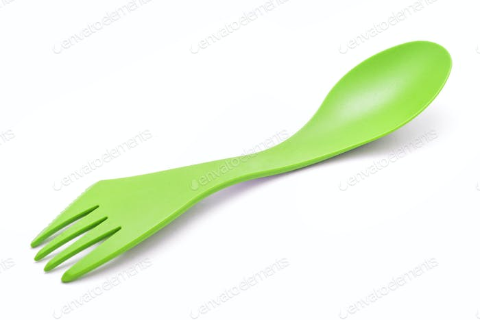 Camping spoon and fork