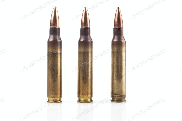 Three isolated Bullets