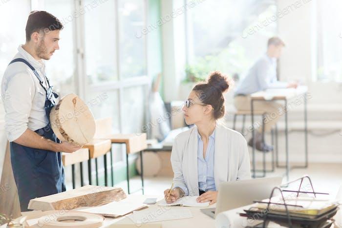 Choosing material for cabinetmaking