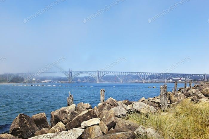 54384,Yaquina Bay Bridge, Newport, Oregon, United States