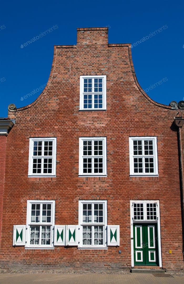 House en el barrio holandés