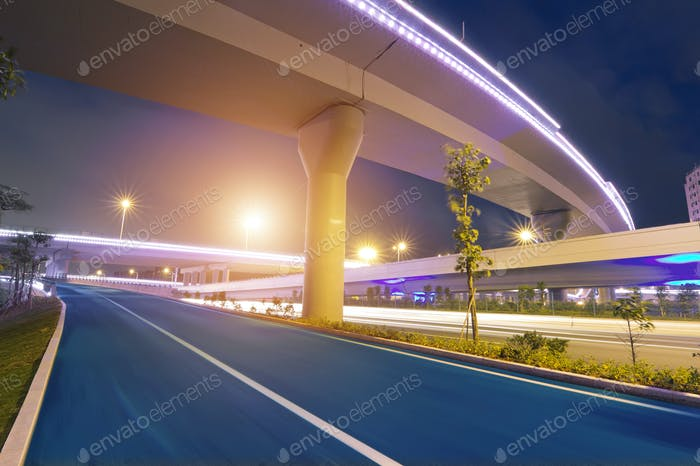 Overpass bridge