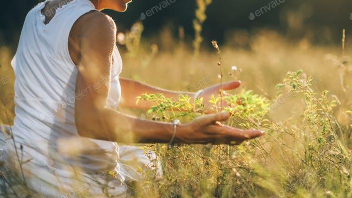 Kommunion mit der Natur