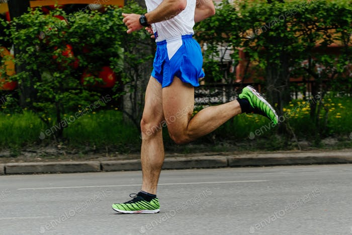 male runner athlete