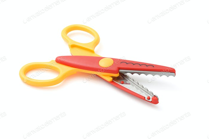 Zigzag scissors