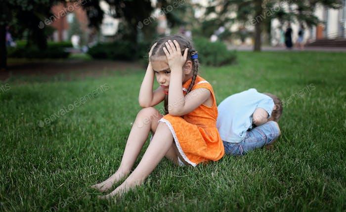 Emociones negativas del niño