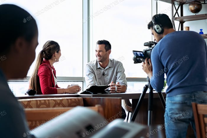 Корпоративный интервью