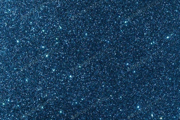 Blue glitter texture