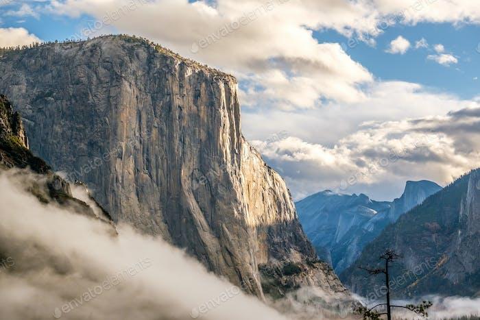 El Capitan Rock im Yosemite Nationalpark