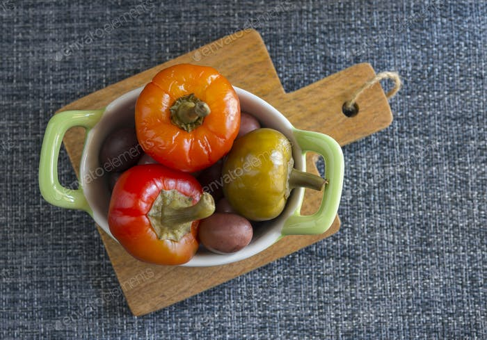 peppers in vinegar aroma