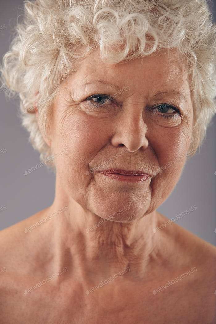 Alte Frau Gesicht