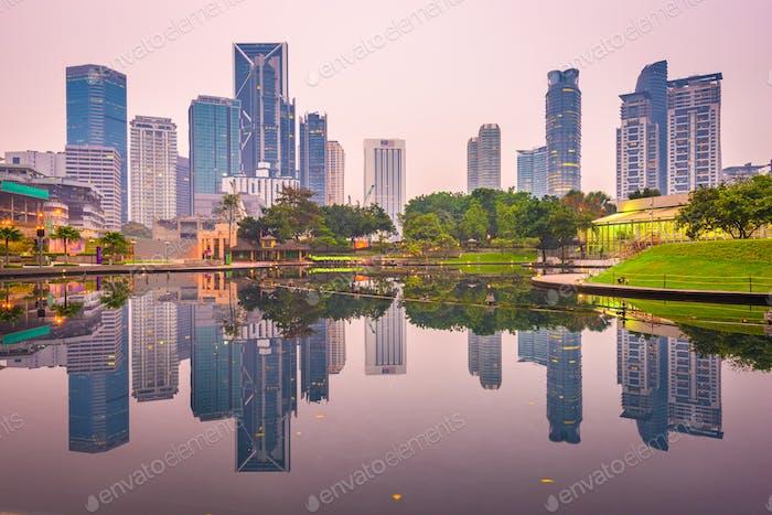 Kuala Lumpur, Malaysia cityscape