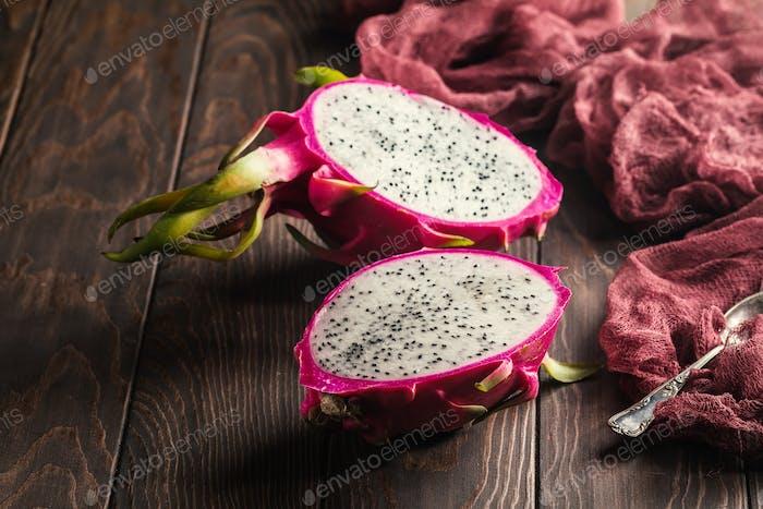 Asiatische Dragon-Frucht