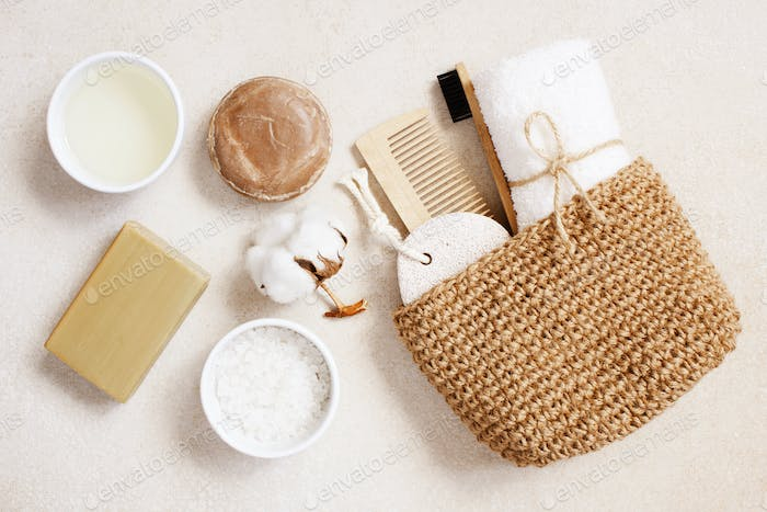 Organic Body Care Products, Concept of Zero Waste