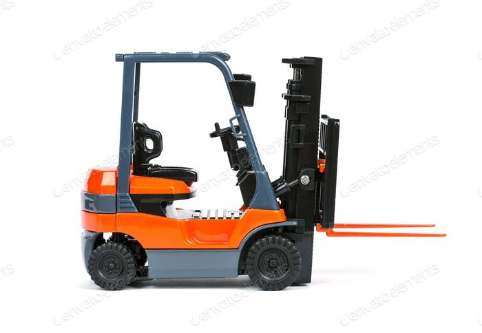 Loader on a white background