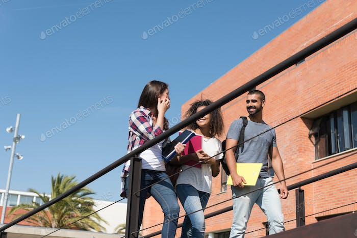 Group of students in Campus
