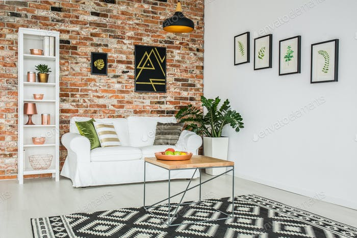 Stylish Living Room Foto Von Bialasiewicz Auf Envato Elements Extraordinary Stylish Living Room