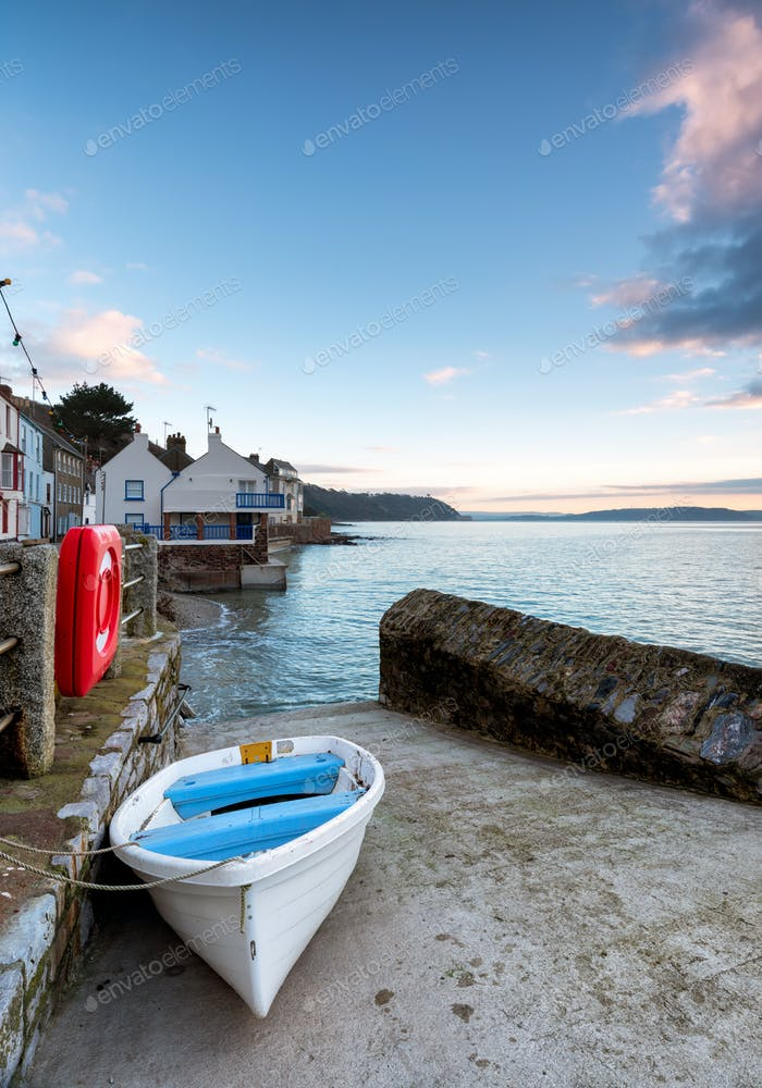 Early Morning at Kingsand in Cornwall