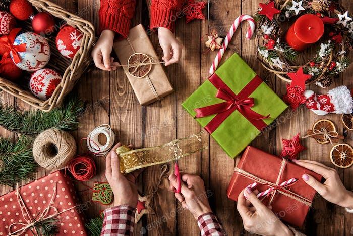 Tradiciones familiares de Navidad