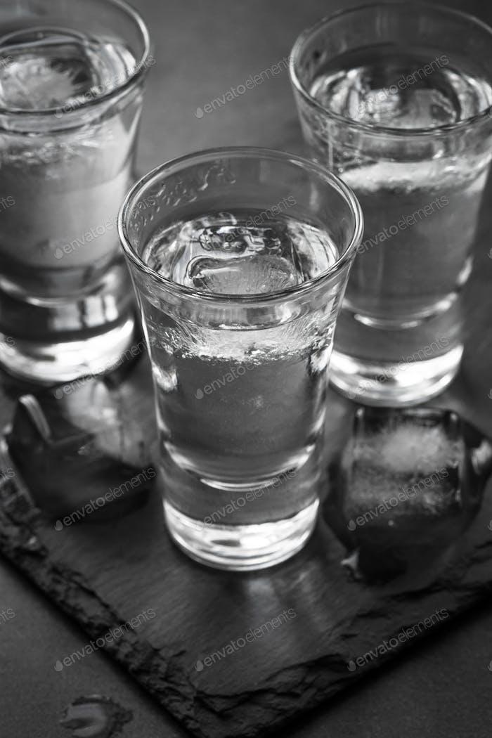 Wodka Shot Drink.