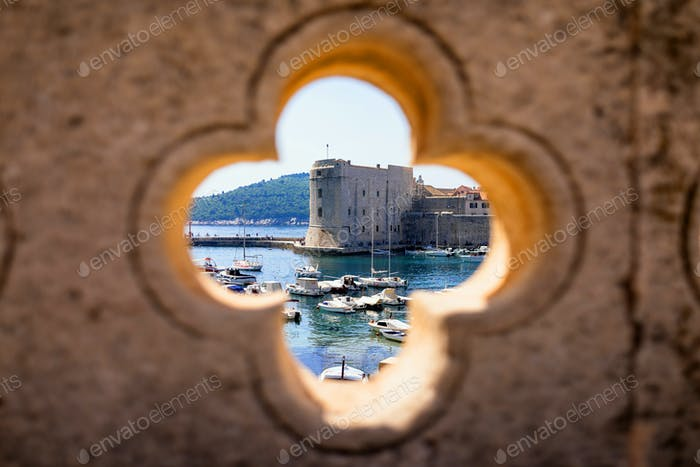 Dubrovnik harbor view