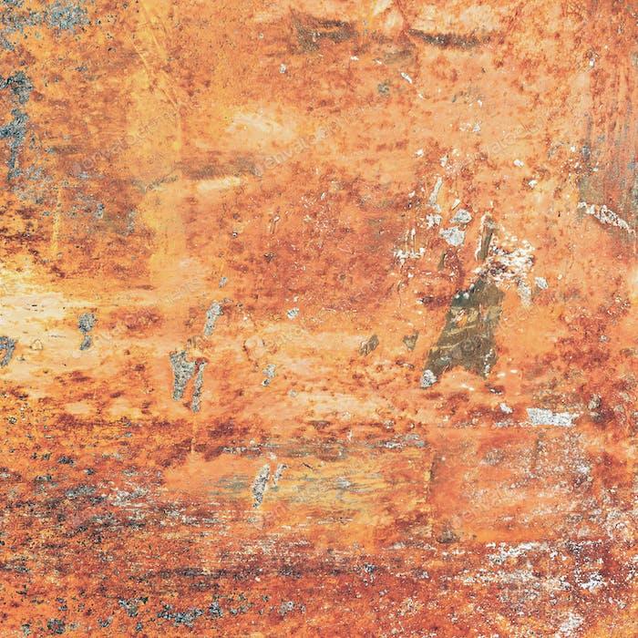 Rust metal background