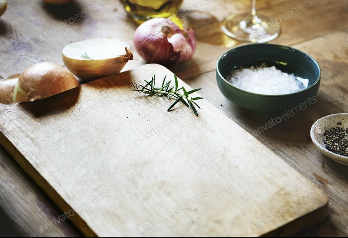 Cooking ingredients food photography recipe idea