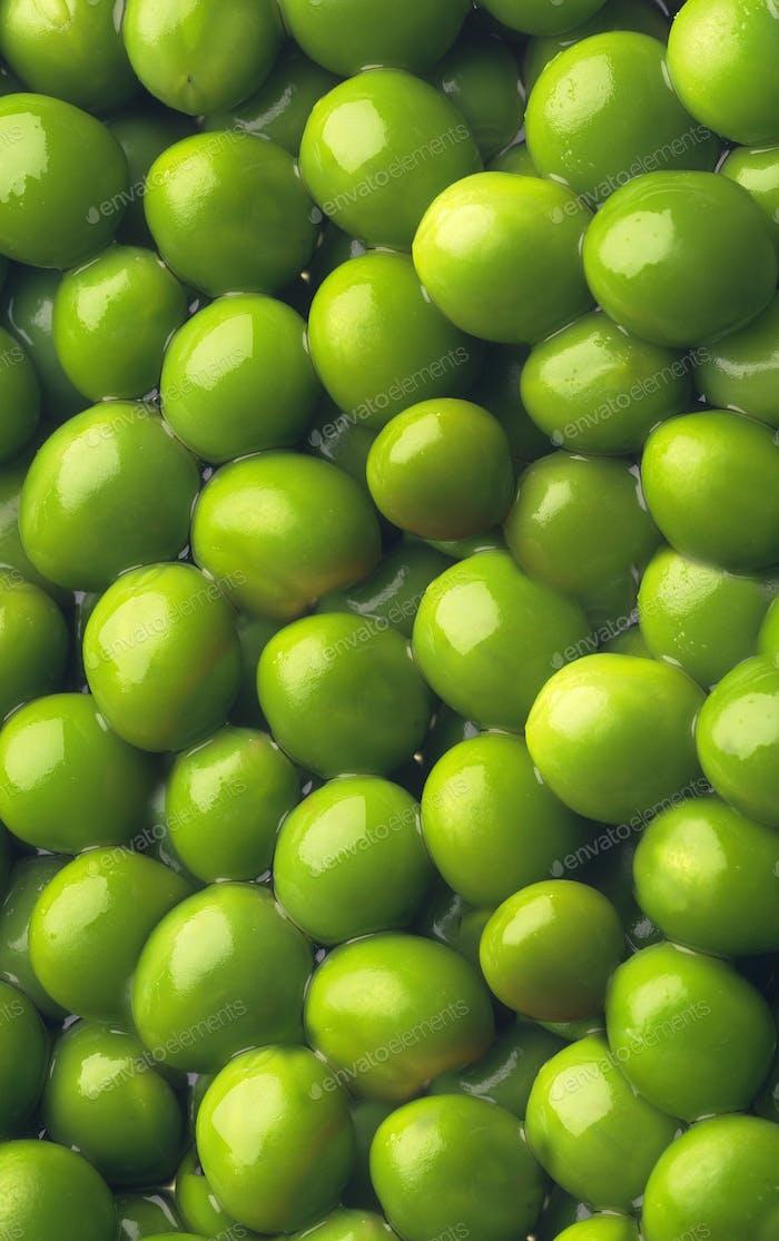 Grüne Erbse Hintergrund oder Textur