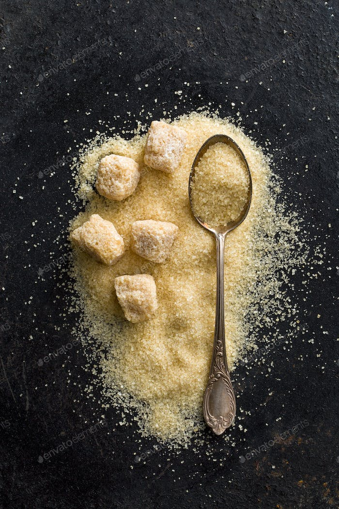 unrefined cane sugar