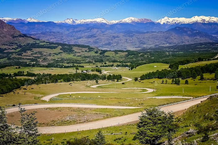 Carretera Austral switchbacks