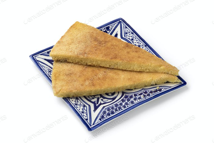 Traditional Moroccan harcha