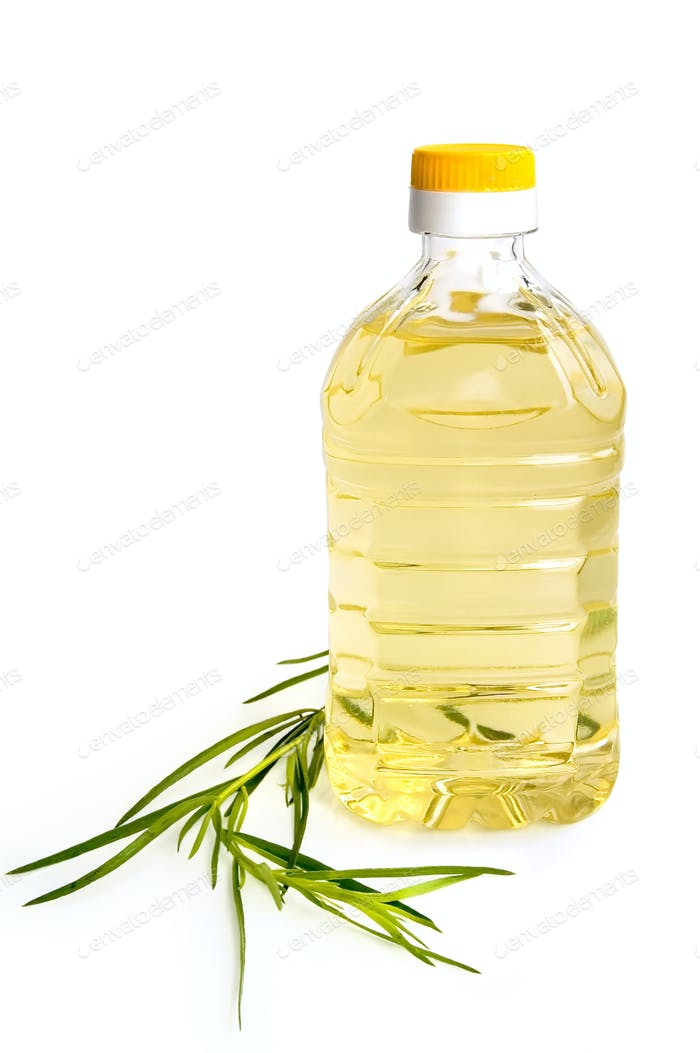Vegetable oil with tarragon