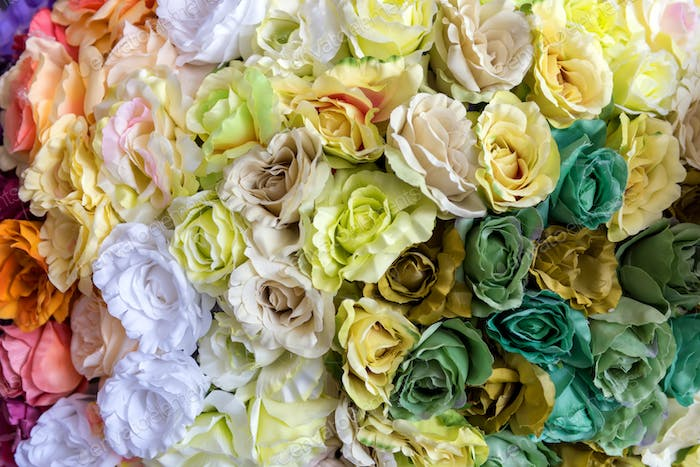 Design pattern of flower texture and background