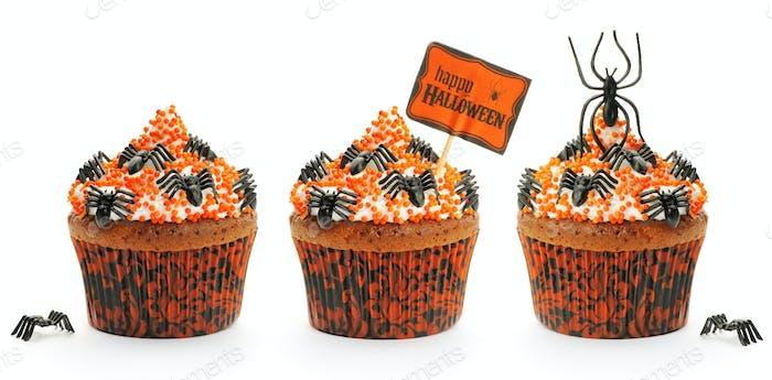 Halloween cakes set