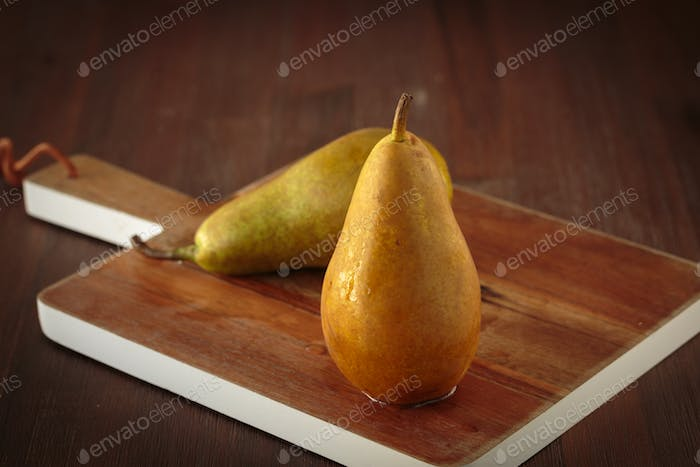Fresh pear fruit