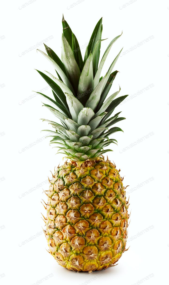 Ripe juicy pineapple