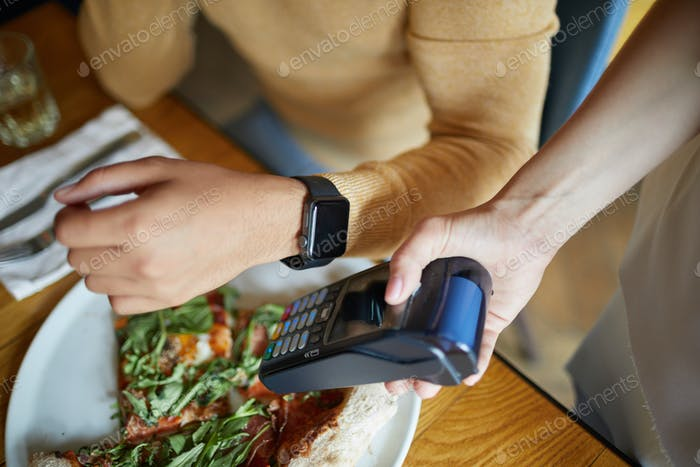Way of contactless payment