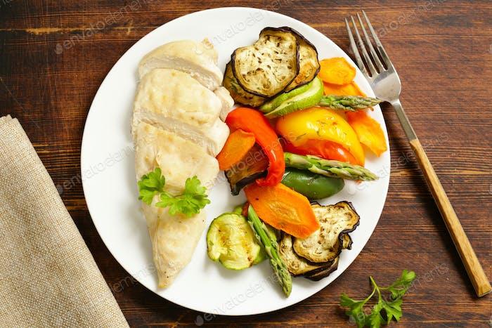 Healthy Food Chicken Fillet